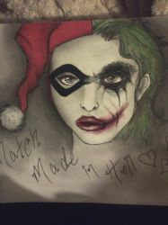 Harley and Joker.. Match made in hell by Little-miss-harajuku