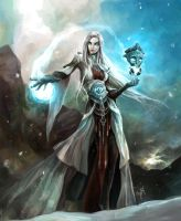 The Mercurian Sorceress by engkit