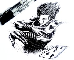 Hisoka drawing by SATOart
