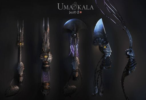 Umakala, moonshine nanliang weapons by armsav