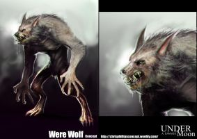 Werewolf Concept by MightyMoose