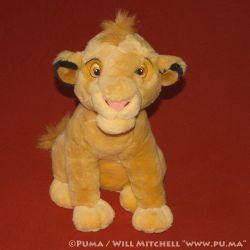 Cub Simba plush from the Netherlands by dapumakat