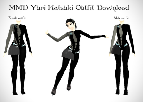 MMD YOI Eros Outfit Download by dianita98
