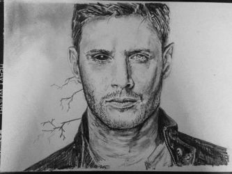 Dean supernatural Demon Jensen Ackles by Ray-Clark