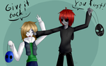 PC: Hammer Head and Eyeless Jack by squashgender