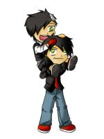 My Chemical Romance: Just married by ThePyrrhaProject