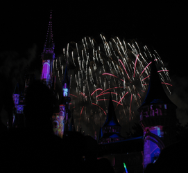 Castle Fireworks Show IMG 1117 by TheStockWarehouse