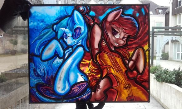 My Little Pony Stained Glass by athiil