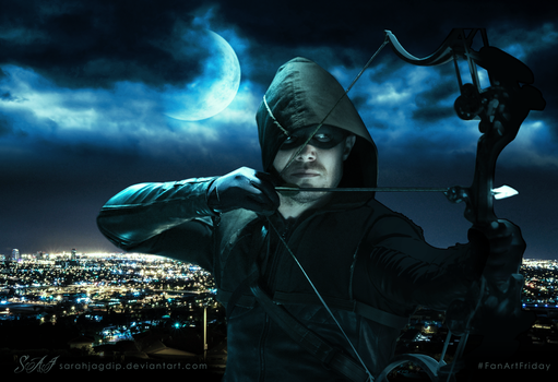 Arrow #FanArtFriday by sarahjagdip