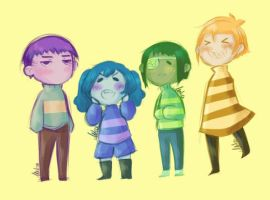 [TG] Undertale by mika4eyed