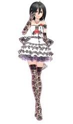 MMD Mikasa lace dress by GoneCrazy00