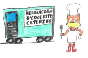 Antoine and the catering van by dth1971