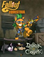 Fallout Equestria - Duck and Cover! ... cover. by CaptainHoers