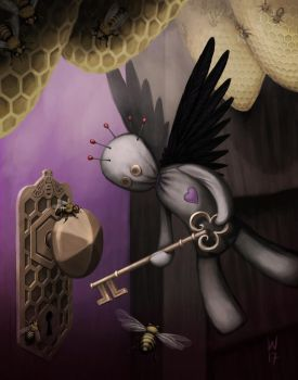 Voodoo Bees by nilwill