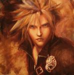 Cloud Strife: A Study by vee209
