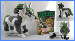 SOLD  Wolf Link Twilight Princess by darkpheonixchild