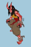 Feral Monk by Lord-Of-The-Guns