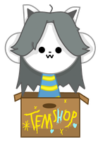 Temmie by FunnystufBurrito
