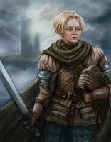 Brienne the Beauty by Krikin