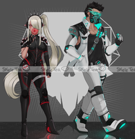 [Adopts] Cyborgs    USD/AUC   CLOSED by skele-tea