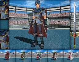 MMD - Marth Colors Ver. 02 by Rouzel