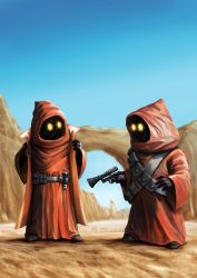 Jawas - Old School Vinyl by Robert-Shane