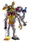 Golden Mangle by shadowNightmare13
