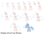 How to draw an alicorn by Ruhisu
