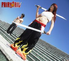 Erza Gray Fairy Tail Cosplay by Shady-Chan