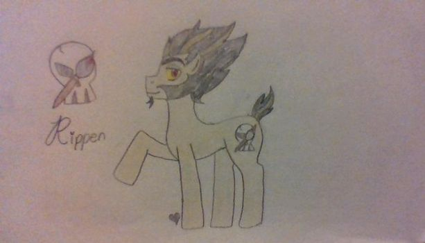 Rippen as a Pony by ComicalShadow