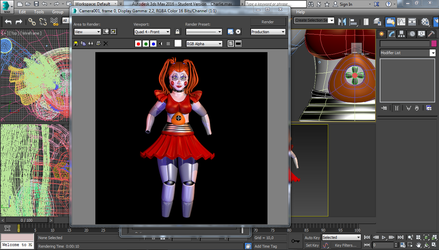 Baby - The Fourth Closet WIP by GamesProduction