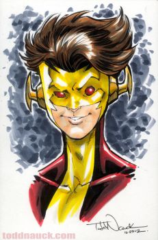 New52 Kid Flash by ToddNauck
