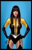 Silk Spectre illustration by Yleniadn86