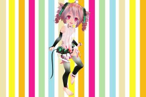 Tda Chibi Teto - NOW WITH PHYSICS! - Download by YamiSweet