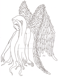 Weeping Angel by vector010