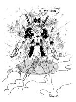 Deadpool by tonyperna