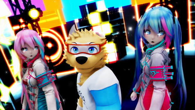 [MMD] Whistle [4KUHD60FPS] by CegooK