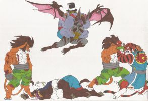 Bloody_Roar_Doodles_18oct2012 by AlexBaxtheDarkSide