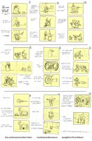 SpongeBob Surprise Party Storyboards by shermcohen