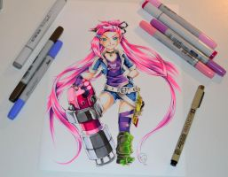 Slayer Jinx by Lighane