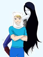 Finn and Marceline! by Myed89