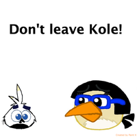 Don't leave Kole by Mario1998