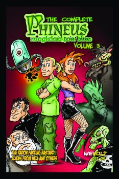 Complete Phineus Vol 3 Cover by Phinmagic