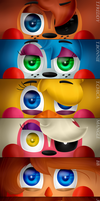 FNaF 2 eyes|Toys by SoundwavePie