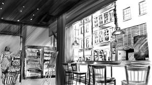 Coffee Shop by rjakobson