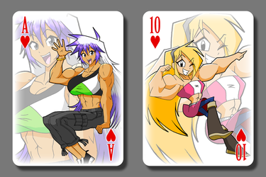 Minmo21 Playing Cards WIP by Minamo21
