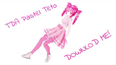 [MMD] TDA Pastel Teto [DOWNLOAD OPEN] by CupcakeFactory266