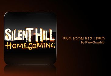 Silent Hill Homecoming Icon by FlowGraphic