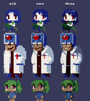 Cave story pixel sprites redone by Daydreamer194
