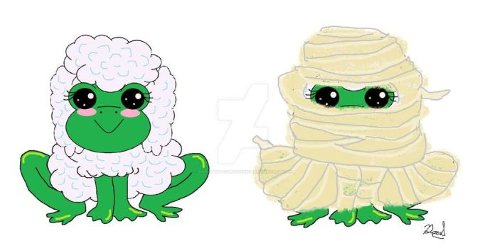 Froogle as a Mummy by Daryl-the-cartoonist